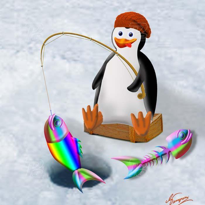 Disegni digitali elaborazioni fotografiche foto artistiche for Disegno pinguino colorato
